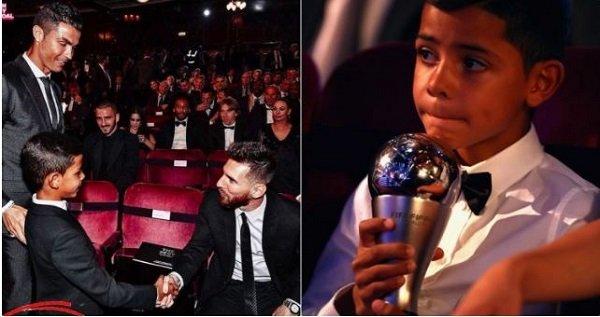 Cristiano Ronaldo Jr Posts Unbelievable Message To Lionel Messi