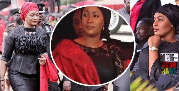 Visibly Shaken Samira Bawumia Looks Extremely Sad At KABA's Final Funeral Rites [Video]