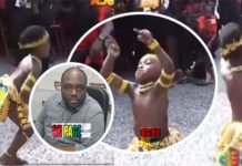 Video: Young boy steals show with his amazing adowa dance at KABA's funeral