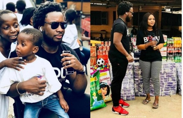 Sonnie Badu And Mum Takes Over Orphanage Home In Accra (Photos)