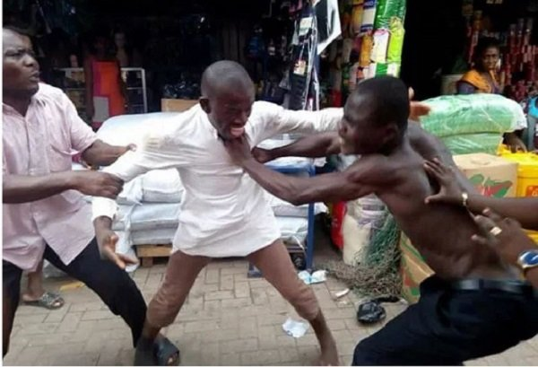 Image result for ghana pastors fight in street