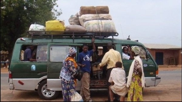 A Woman With A Two Year Old Baby Mysteriously Dies In A Trotro On Her Way To Celebrate X'mas In Her Hometown