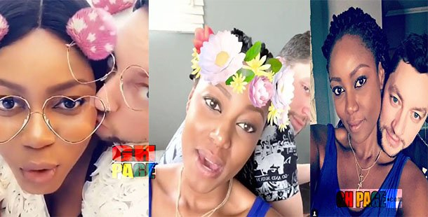 Video: Yvonne Nelson for the first time had shared a video, having a 'carefree holiday vibe' with baby daddy