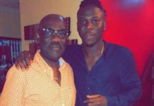 Photos: Stonebwoy With His Father In law In A New Swag Out Photos
