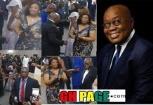 Prez Akufo-Addo Shows His Dancing Skills At George Weah's Inauguration In Liberia