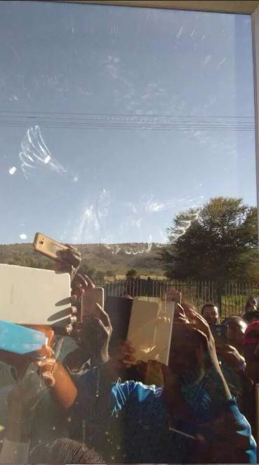 'Angel' Caught On Camera During Church Service In South Africa