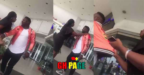 Love and Rejection: Another Man Rejects his Girlfriend's Proposal in Public (Video)