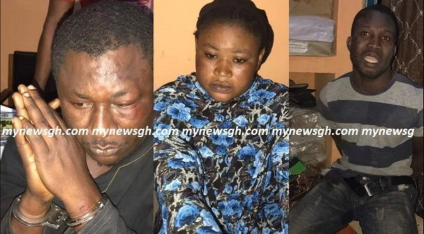 5 Armed Robbers Including Woman Arrested For Robbing Orphanage
