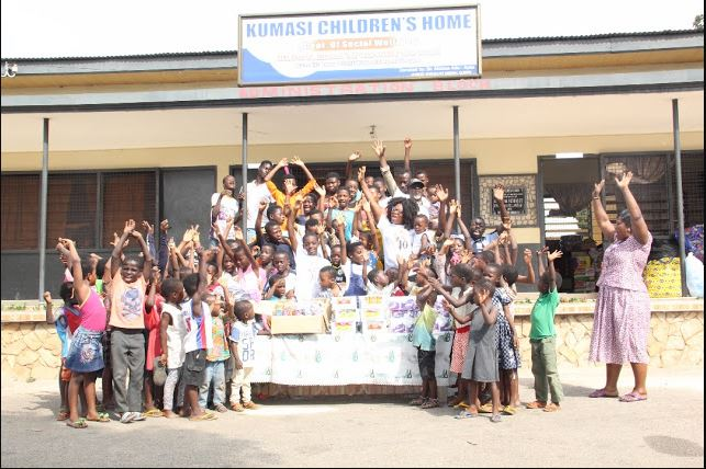DJ Switch Donates to Orphanage And Rehab Center
