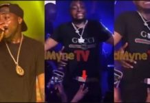 Female Fans Grab Davido's Manhood While He Was Performing On Stage