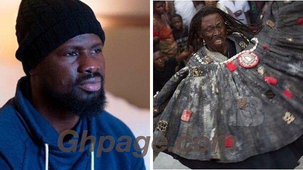 Emmanuel Eboue was cursed by ex-girlfriend ~ Fetish Priest, Kwaku Bonsam reveals