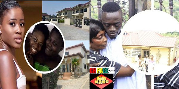 Photos: Yaw Dabo, Fella Makafui and other Ghanaian Celebrity who built a house for their mothers in 2017