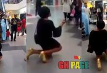 Guy refuses his girlfriend's proposal at the Mall (Video)