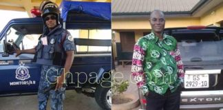 This is the police officer who was killed by the armed robbers who attacked Kwabenya Police station [Photos]