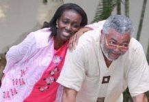 Ex-Prez Rawlings has opened about how he chased Nana Konadu for 5 years before she accepted him
