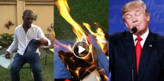 Video: KOD Burns Shirt From Donald Trump's Signature Collection