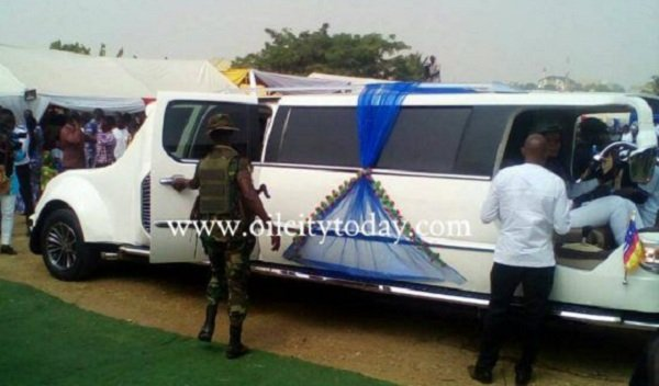 Video: Apostle Kwadwo Safo Designs Ghana And Africa's First Ever Motorbike Limousine