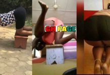 "Kitchen Stool Challenge Hit Social Media After ""Headmaster Leaked S£xTap"" -See Photos"