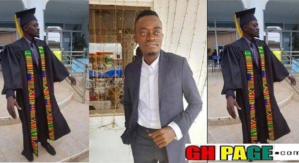 Kwadwo Nkansah Lilwin Goes To University, Sings At Matriculation Ceremony