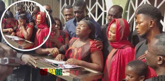 Video: Maame Serwaa's powerful tribute to her Mother broke people's hearts