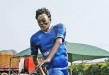 Michael Essien Statue