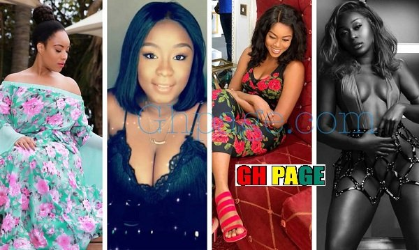 Photos: Efia Odo going nude, Mcbrown dazzling, Dumas looking awesome to Jackie hanging out with George Weah; See photos of Dumelo, Gafah, Juliet, Yvonne &other celebs