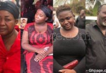 Here Are The PHOTOS Of The Celebrities Who Were At Maame Serwaa's Mum's Burial