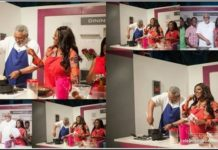 Ex-President Rawlings Shows Cooking Skills On Yvonne Okoro's Reality TV Show