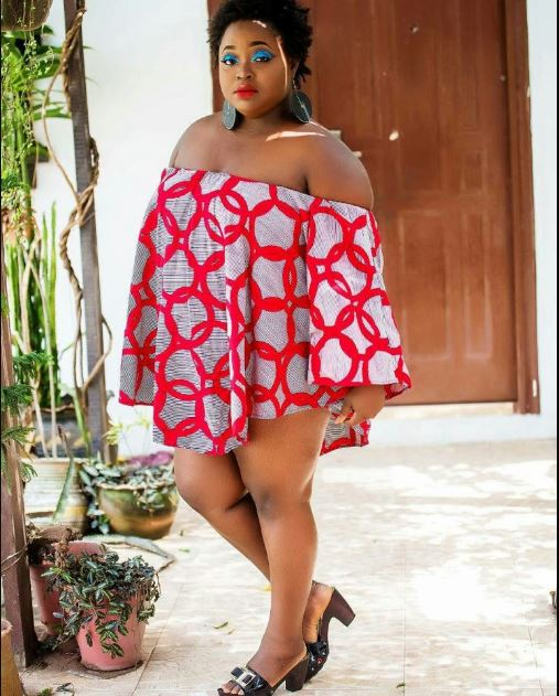 Actress Roselyn Ngissah Takes Off Her Bra And Clothes To Give Fans A Pleasant View