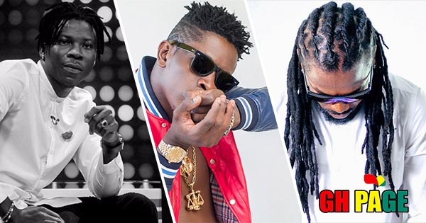 Shatta Wale declares his love for songs from Stonebwoy and Samini