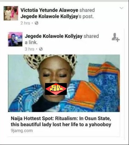 Popular Facebook Slay Queen, Classic White Mysteriously Killed For Money Rituals