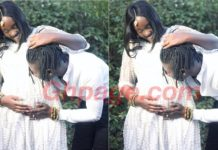 Stonebwoy finally shares the pregnant Photo of his wife weeks after she gave birth