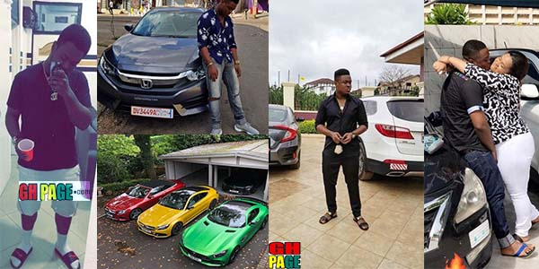 Vivian Jill Lawrence's First Son, Clinton Prempeh is all grown up — Drives One Of The Porsh Cars In town And Is Living The Dream Life Of Every Teenager(Photos+Video)