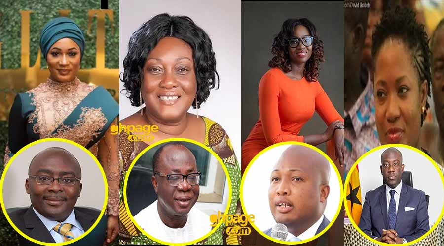 5 most beautiful wives of some prominent Ghanaian politicians [Photos]
