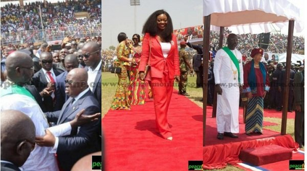 Here Are All The Unseen Photos From President Oppong Weah's Inauguration
