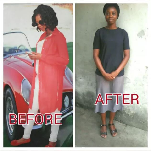 """I Worked For The Devil For 25 Years"" — Born Again Lady Shares Her Story, Before & After Photo"