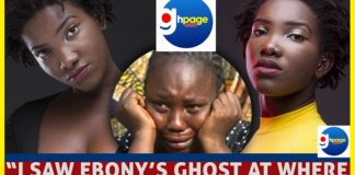 Woman Says She Saw Ebony's Ghost At Where The Accident Happened And Ebony Sent Her A Message To Ghanaians(Audio)