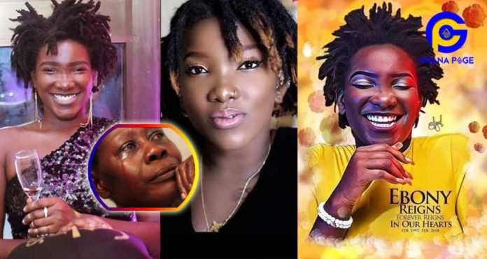 Audio:Woman claims she saw Ebony at her accident scene crying-Ebony gave her a message