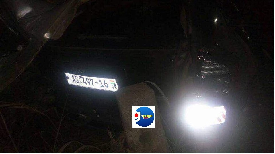 Photos from Ebony Reigns' Accident scene and Lifeless body confirming her death