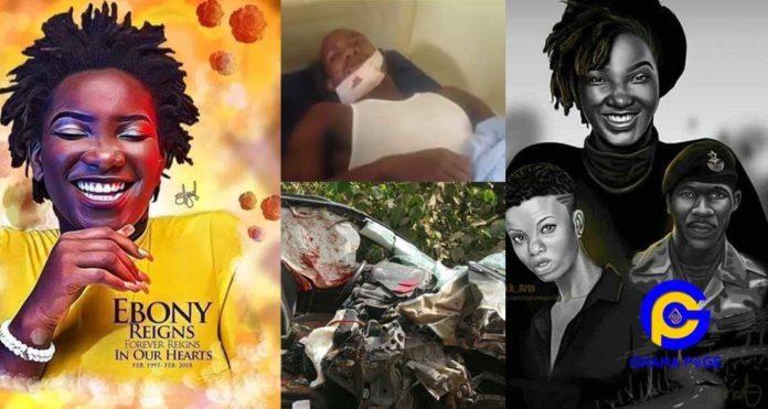Video: I tried my best to save Nana Hemaa - Ebony Reigns driver narrates what really happened