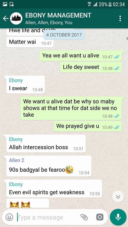 Ebony web chat