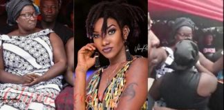 Watch The Video Of Ebony's Mother Singing 'Maame Hwe' At Her Daughter's One-Week Celebration