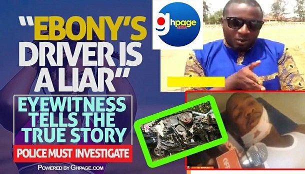 Ebony's Driver is a liar, Eyewitness tells the true story(Video)