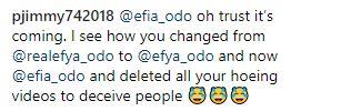 Efia Odo in fresh trouble as social media user threatens to drop her S£xtape