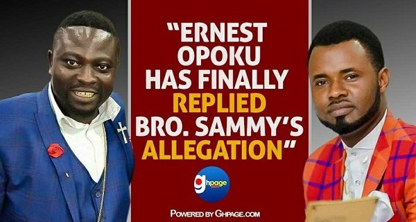 Epic Response: Ernest Opoku Has Finally Replied Brother Sammy's Allegations [Watch Video]