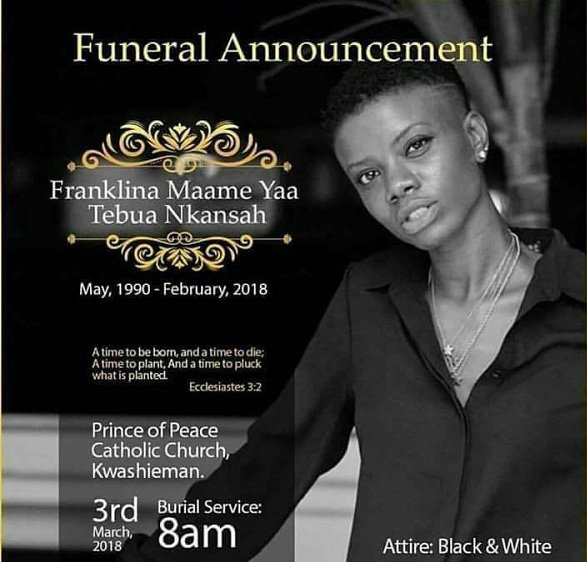 Funeral Poster For Frank Kuri Has Been Released See Photo