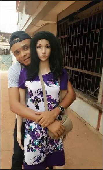 Man Kneels To Propose Marriage To His Mannequin Sex Doll