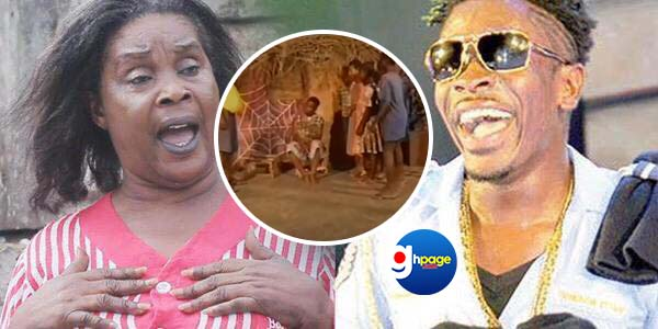 Video: Shatta Wale Was A Gong-gong Beater In 'By The Fire Side' – Maame Dokono Reveals
