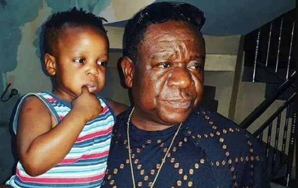 Mr Ibu Shares Adorable Photo With His Handsome Son (Photo)