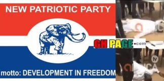 Confusion Galore - NPP Constituency Executive Collapses After Losing Election (VIDEO)
